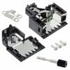 D-Sub, D-Shaped Connectors - Backshells, Hoods -- 626-1833-ND