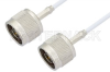 N Male to N Male Cable 60 Inch Length Using RG188 Coax, RoHS -- PE33525LF-60 -Image