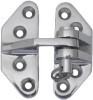 Hatch Hinge, Lift Off, Stainless Steel -- 897228
