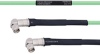 Temperature Conditioned Low Loss RA SMA Male to RA SMA Male Cable LL142 Coax in 18 Inch -- FMHR0152-18 -Image