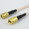 SMA Female (Jack) to SMB Plug (Male) Cable RG316 Coax Up To 3 GHz in 120 Inch -- FMC1316315-120 -- View Larger Image