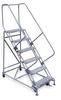 Rolling ladder,Unassd,6Step,Exp Metal -- 2606R2630A1E12B4W4C1P6