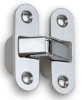 Medium White Poly Concealed Hinge -- 658011