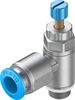 GRLA-1/8-QS-8-RS-D One-way flow control valve -- 534337