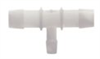 Barbed fittings, Reducing T connector, PVDF, 3/4