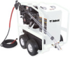 Hot Pressure Washer - Gasoline Direct Drive