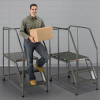 EGA Handrails for 3- and 4-Step Work Platforms -- 7340101