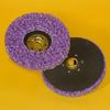 3M Scotch-Brite CX-DN Silicon Carbide Deburring Disc - Very Coarse Grade - Quick Change Attachment - 7 in Diameter - 33196 -- 048011-33196 - Image
