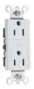 Duplex/Single Receptacle -- 26252-CHGN -- View Larger Image