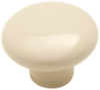 Amerock 217BON - Round Plain Knob, Diameter 1-1/2