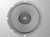 Eight-Inch Dual Cone Ceiling Speaker -- 209