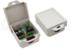 Weather Resistant Lightning Surge Protector for RS-485 & 12VDC Power Lines -- AL-D15P12DW - Image