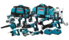 MAKITA 18 V LXT Li-Ion 15 Piece Combo Kit -- Model# LXT1500