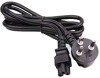 6ft Denmark 3 pin plug to IEC C5 Power Cord -- P-2614-06B - Image