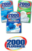 2000 Flushes Ready-to-Use Deodorizer, Toilet Cleaner - 3.5 oz Powder - 20102 -- 041737-20102 - Image