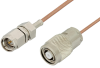 SMA Male to Reverse Polarity TNC Male Cable 48 Inch Length Using RG178 Coax, RoHS -- PE35242LF-48 -- View Larger Image