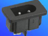 Power Inlets IEC 320-C2 -- AEL- JR201SD
