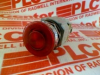 PUSHBUTTON RED LED MUSHROOM MOMENTARY 12V -- ALD39911NR12V