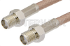 SMA Female to SMA Female Cable 36 Inch Length Using RG142 Coax -- PE3578-36 -Image