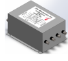 Three phase WHY single stage multi-purpose EMI filter, 200 Amp, M10 screw for input / output connections -- F3559S200H-001 -Image