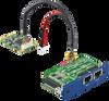 iDoor Module: 2-Port Gigabit Ethernet, IEEE 802.3af (PoE) Compliant, mPCIe, RJ45 -- PCM-24R2PE