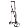 Luggage Cart, 125lb Capacity, 13 x 10 Platform, Black Steel -- 390002BLK - Image