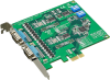 2-port RS-232 PCI Express Communication Card w/Surge & Isolation -- PCIE-1604 -Image
