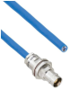 Plenum Cable Assembly TRB Non-Insulated Bulk Head Jack 3-Lug Cable Jack to Blunt MIL-STD-1553 .242