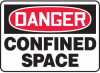 Danger Confined Space Sign -- SGN598