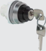Non Illuminated Selector Switch With Key -- T11LA00 - Image