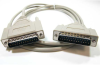 10ft DB25 M/M Null Modem Cable -- NU12-10