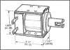 Box Frame Solenoid -- 62F1904 - Image