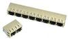 Input-Output Connectors, Modular Jack Series, Modular Jack, Multiple Port, # Contacts/ Port (Loaded)=32 -- 94910-004MLF - Image