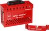 Brady Safety Redbox Red Steel Group Lockout Box 145579 - 20 Padlock Capacity - 754473-54396 -- 754473-54396 - Image