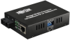 Fiber Optic - 10/100BaseT to 100BaseFX-SC Multimode Media Converter, 2km, 1310nm -- N784-001-SC -- View Larger Image
