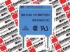 CAPACITOR X2 0.10UF 305VAC15MM CAPACITOR X2 0.10UF 305VAC15MM; CAPACITANCE:0.1UF; VOLTAGE RATING, AC:305V; CAPACITOR DIELECTRIC TYPE:POLYPROPYLENE; SE -- B32922C3104M