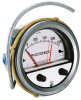 Differential Pressure Gauge with Alarms -- F3000MR60