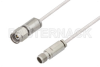 2.4mm Male to 2.4mm Female Cable 24 Inch Length Using PE-SR405AL Coax -- PE3W00790-24 -Image
