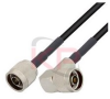 N-Male to Right Angle N-Male LMR 195 Cable -- KPPA-N-N-36-R -Image