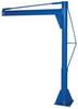 Multi-Station Transportable Jib Crane -- JIB-P-10-6-6
