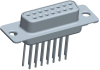 Input-Output Connectors, D-Subminiature, D-Sub High Performance, Durability (Mating cycles)=High Perf (//500 Mating Cycles) -- DAP15S465TLF - Image