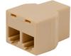 1-Wire Bus 1×2 Splitter, 6P4C (RJ11) Connectors -- 105353 - Image