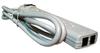 QVS Plastic Case 6 Outlet Surge Protector - PP114M