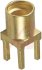 Connector; MMCX; 50 Ohms; 0 to 6 GHz; 170 V (RMS); 500 V (RMS); Brass; Gold -- 70090567