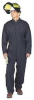 Flame-Resistant Coverall Kit,Tn,3XL,HRC5 -- 8FLW0