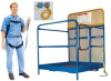 Work Platforms: Dual Side Door Entry -- WP-3636-84B-DD - Image