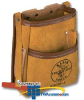 Klein Tools, Inc. 5-Pocket Tool Pouch - Leather -- 5125L -- View Larger Image
