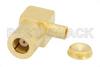 SMB Plug Right Angle Connector Clamp/Solder Attachment for PE-SR405AL, PE-SR405FL, PE-SR405FLJ, PE-SR405TN, RG405 -- PE4358 -- View Larger Image