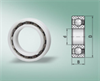 Radial Plastic Bearings for Dry, Wet, Washdown, Corrosive, Chemical Environments (Inches) -- R04A-ASA