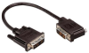 DVI-D Single Link DVI Cable Male / Male Right Angle, Right, 1.0 ft -- MDA00027-1F -Image